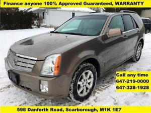 2007 Cadillac SRX AWD FINANCE 100% APPROVED WARRANTY