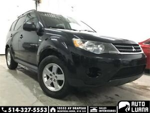 2009 Mitsubishi Outlander XLS AWD/7 PLACES/MAG/BLTH/SUPER PROPRE