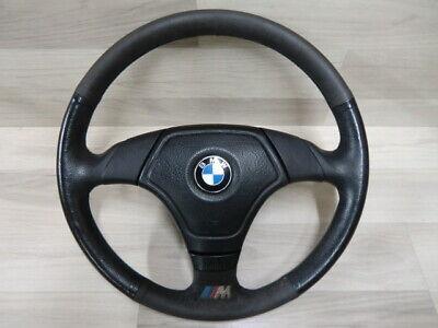 BMW E36 Z3 3 Speichen Leder Airbag Sport Lenkrad 1092050 E36 neue Bauform gebraucht kaufen  Heldenstein