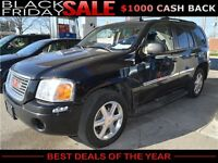 2007 GMC Envoy SLT 4WD SUV with Sunroof, Leather