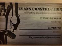 renovation and handyman services ( Evans constructions )