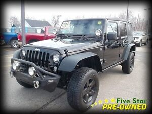 2015 Jeep Wrangler Unlimited Sport Soft Top
