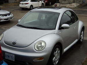 For Sale 2001 Volkswagen Beetle 2.0 L In Great Running Condition