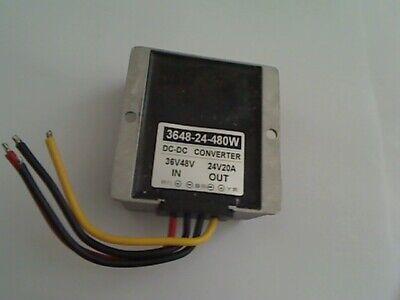 Dc-dc To Dc 3648-24-480w Converter Regulator Kit 36v48v --in--24v20a --out
