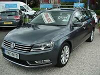 2013 VOLKSWAGEN PASSAT 2.0 TDI Bluemotion Tech Highline SAT NAV