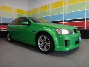2007 Holden Commodore VE SV6 Hot House Green 6 Speed Manual Sedan Wangara Wanneroo Area Preview