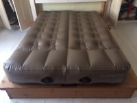 Aerobed Active Double Camping Airbed NEW