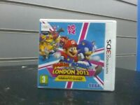 Nintendo 3ds game Mario and sonic London 2012 Olympic game