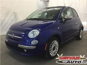 Fiat 500 Lounge Cuir Toit Ouvrant MAGS 2013