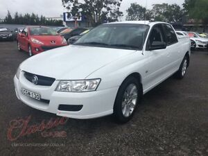 2006 Holden Crewman VZ MY06 White 4 Speed Automatic Crew Cab Utility Lansvale Liverpool Area Preview