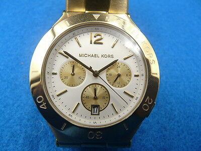 New Old Stock MICHAEL KORS Wyatt MK5933 Chronograph Date Quartz Men Watch