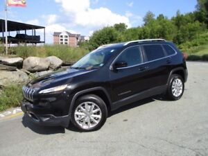 2016 Jeep CHEROKEE LIMITED 4X4 V6 (JUST $29980!! ONLY 18000 KM!!