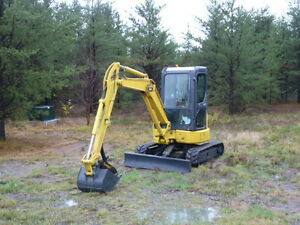 2007 Komatsu PC35mr-2 Mini Excavator