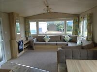 BRAND NEW STATIC CARAVAN FOR SALE AT SANDY BAY, 2017 SITE FEES INCLUDED, CALL CARLY FOR MORE INFO