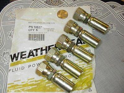 Dana Weatherhead Hydraulic Fittings Swivel 10512 Brit Std Bspp 60 Cone F Pipe