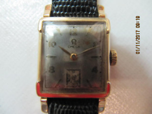 ClassicRareOmega Mens 14KGF Wind Up Watch X Condition Circa 1949