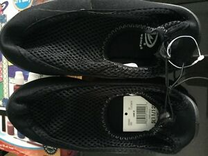 brand new - Athletic works slip on shoe $8 obo 11/12 girls