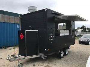 01/15 HI TECH BOX TRAILER FOOD VAN 2 AXLE FOOD VAN Maidstone Maribyrnong Area Preview