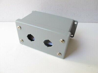 Hammond Mpb2 2-hole Pushbutton Box Enclosure Nos