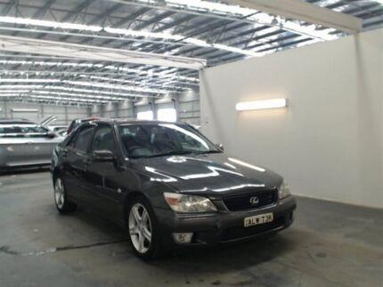 2002 Lexus IS200 GXE10R Sports Luxury Grey 4 Speed Automatic Sedan