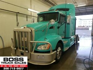 2012 Kenworth T660!! Highway Tractor!! Cummins!! Heavy Spec!!