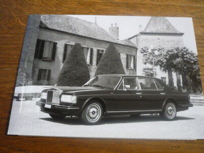 ROLLS ROYCE SILVER SPIRIT III  ORIGINAL PRESS PHOTO