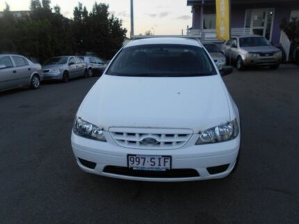 2006 Ford Falcon BF MkII RTV White 4 Speed Auto Seq Sportshift Cab Chassis Coorparoo Brisbane South East Preview