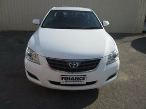 2008 Toyota Aurion GSV40R AT-X White 6 Speed Auto Sequential Sedan