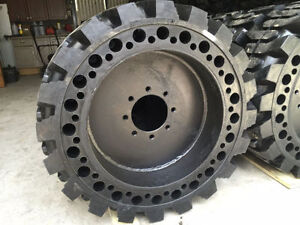 Solid Skid Steer Tires ONLY $685 each Cambridge Kitchener Area image 5