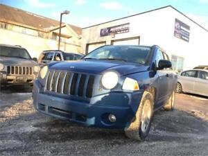 Finance available ! safetied 2009 jeep compass 4X4