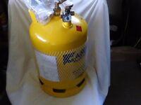 Gaslow 6kg refillable gas cylinder for motorhome or caravan