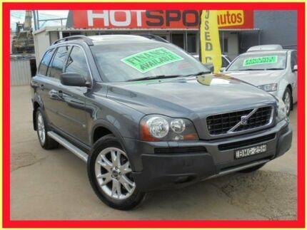 2005 Volvo XC90 05 Upgrade T6 Grey 4 Speed Auto Geartronic Wagon Holroyd Parramatta Area Preview