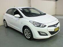 2013 Hyundai i30 GD Active White 6 Speed Automatic Hatchback Gateshead Lake Macquarie Area Preview