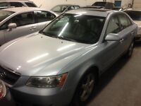 2006 Hyundai Sonata, LOADED, sunroof, leather, power group!