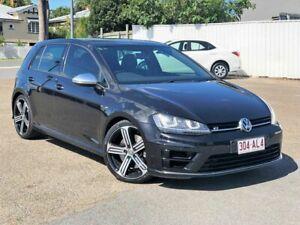 2014 Volkswagen Golf VII MY15 R 4MOTION Black 6 Speed Manual Hatchback Chermside Brisbane North East Preview