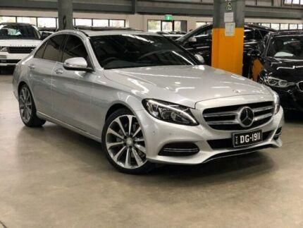 2014 Mercedes Benz C250 W205 BlueTEC Sedan 4dr 7G TRONIC 7sp 21DTT May Silver Sports Automatic