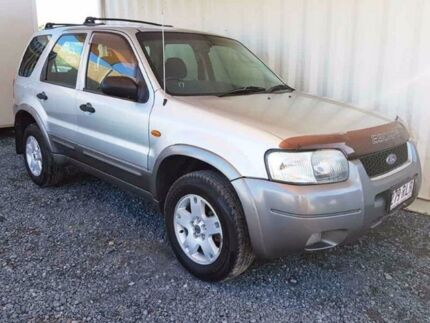 2004 Ford Escape ZB XLT Silver Automatic Wagon Helensvale Gold Coast North Preview