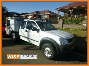 2006 Holden Rodeo RA MY06 LX Space Cab White 4 Speed Automatic Utility Granville Parramatta Area Preview