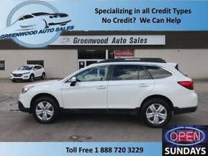 2017 Subaru Outback 2.5i AWD ROOF RACKS SECOND SET OF TIRES!!