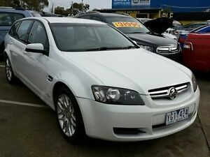 2010 Holden Commodore White Sports Automatic Sedan Dandenong Greater Dandenong Preview