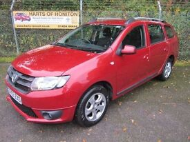Dacia Logan 0.9 Laureate TCe 5DR Estate (cinder red) 2014