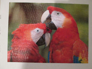 *Like New* 500 Puzzlers Collection - Scarlet Macaws