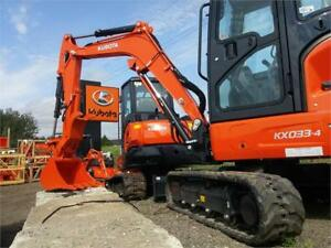 Kubota Construction Machines