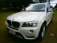 2012 BMW X3 F25 MY0412 xDrive20d Steptronic White 8 Speed Automatic Wagon Southport Gold Coast City Preview