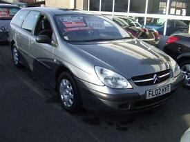 2002 CITROEN C5 2.0 HDi Diesel 110 LX Estate From GBP1,695 + Retail Package