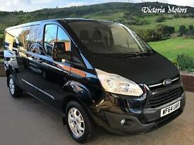 2014 FORD TRANSIT CUSTOM 2.2 TDCi 290 L2H1 Limited 3dr