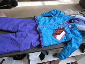 "Snowsuit, Girls size 3T, ""Krickets"" Brand New"