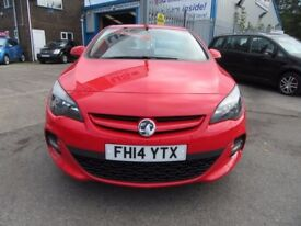Vauxhall Astra TECH LINE GT CDTI (red) 2014