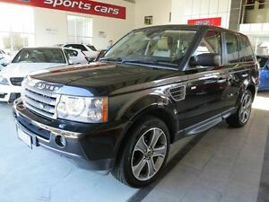 2009 Land Rover Range Rover Sport L320 09MY TDV6 Black 6 Speed Sports Automatic Wagon Albion Brisbane North East Preview