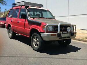 1993 Mitsubishi Pajero NH GLX Red 5 Speed Manual Wagon Blair Athol Port Adelaide Area Preview